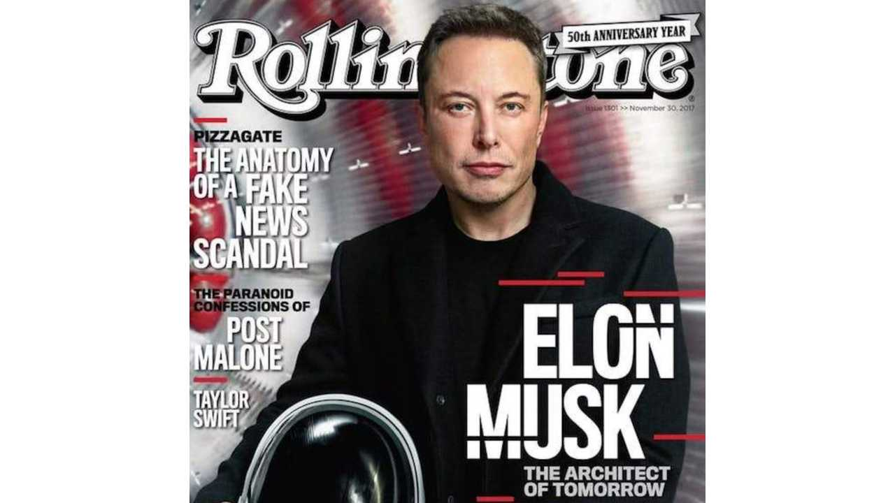 Elon Musk Is On The Cover Of Rolling Stone, Discusses Tesla Semi