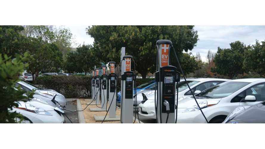 Chargepoint Will Now Manage GE's Charging Network