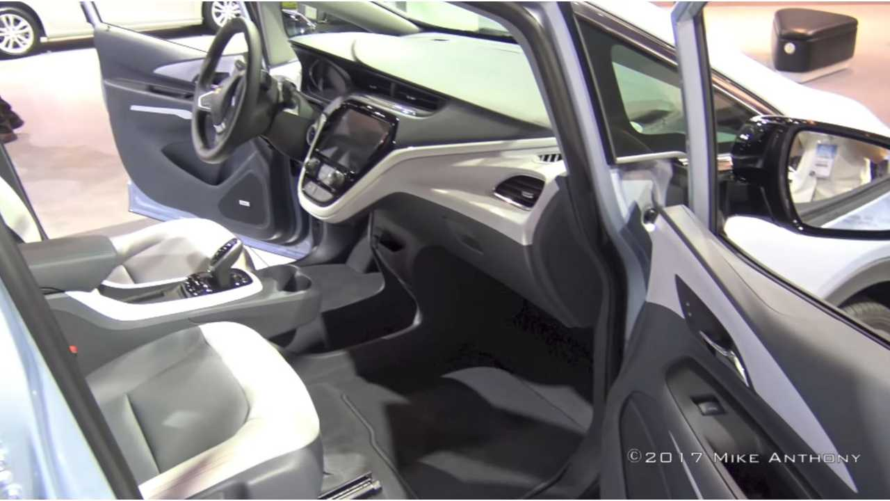 Inside the Chevrolet Bolt
