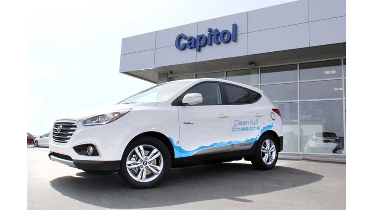 Hyundai Began Sales Of Tucson Fuel Cell In Northern California. Over 100 Delivered in U.S.