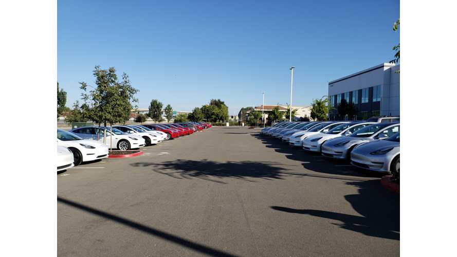 Tesla Model 3 Event: Hundreds Of Cars Delivered, More Stock Inbound