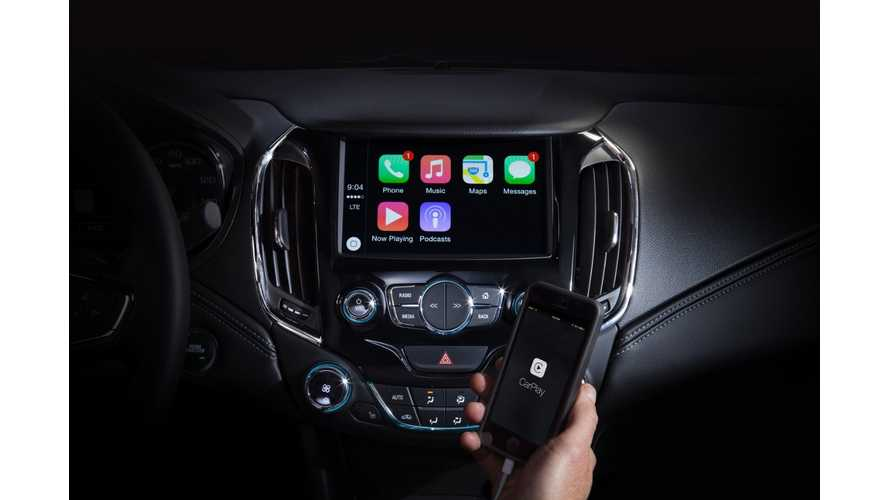 Apple CarPlay Coming To 2016 Chevrolet Volt, Possibly Android Auto Too