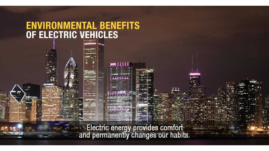 Renault's Latest Electric Car Video Focuses On Environmental Benefits