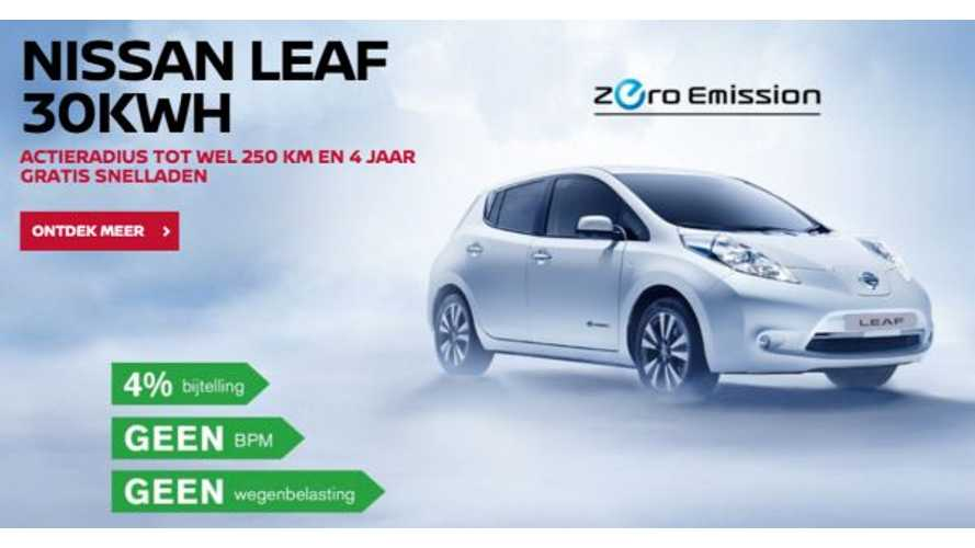 Nissan & Fastned Expand Partnership - 4 Years Of Free Fast Charging!