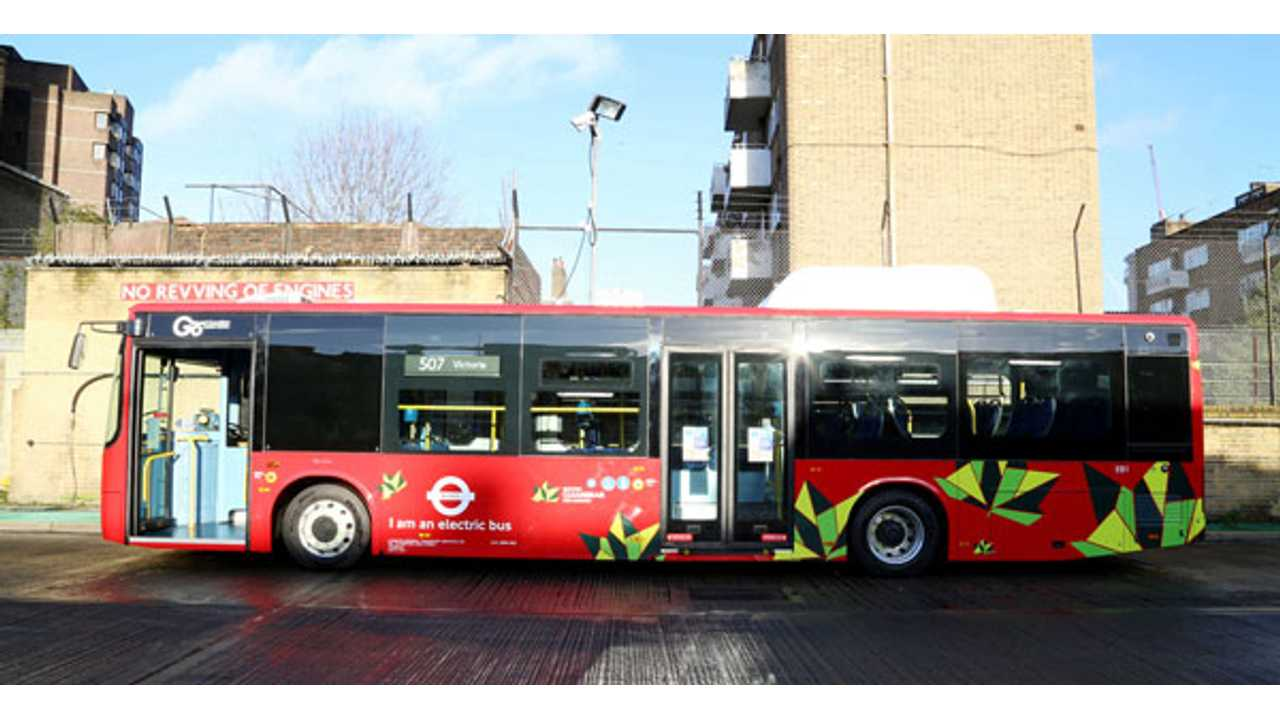 BYD ebus in London