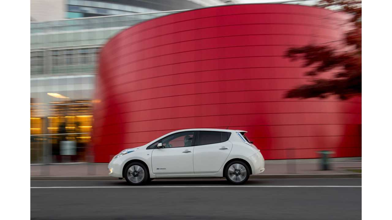 2016 Nissan LEAF 30 kWh Test Drive Review
