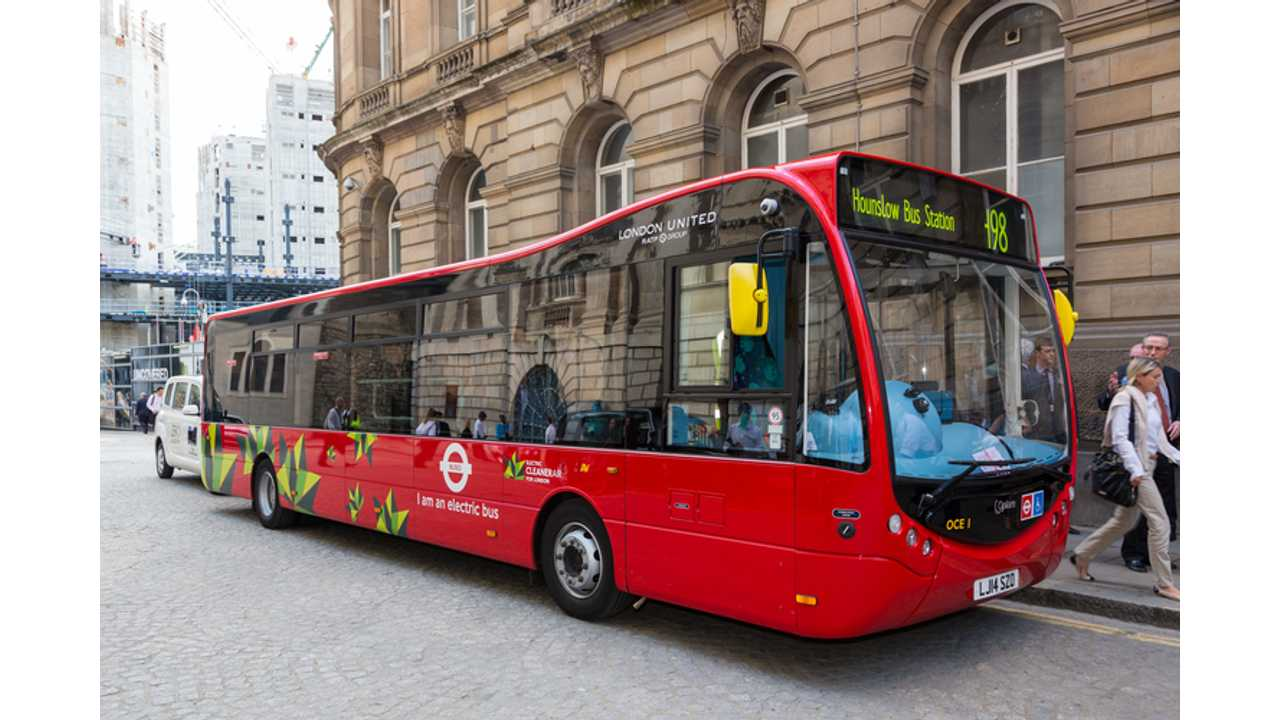London To Add 51 More Electric Buses