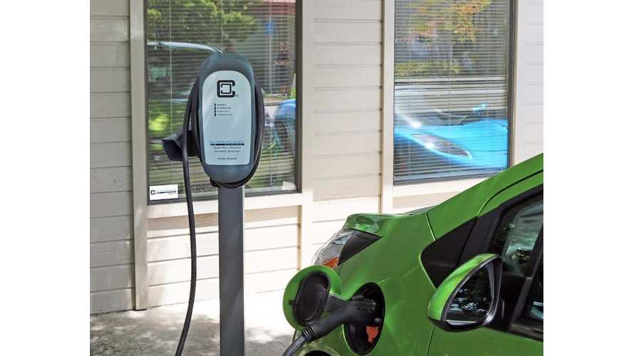 ClipperCreek Family Expands: High Power, 40 amp/9.6 kW EV Charging Station