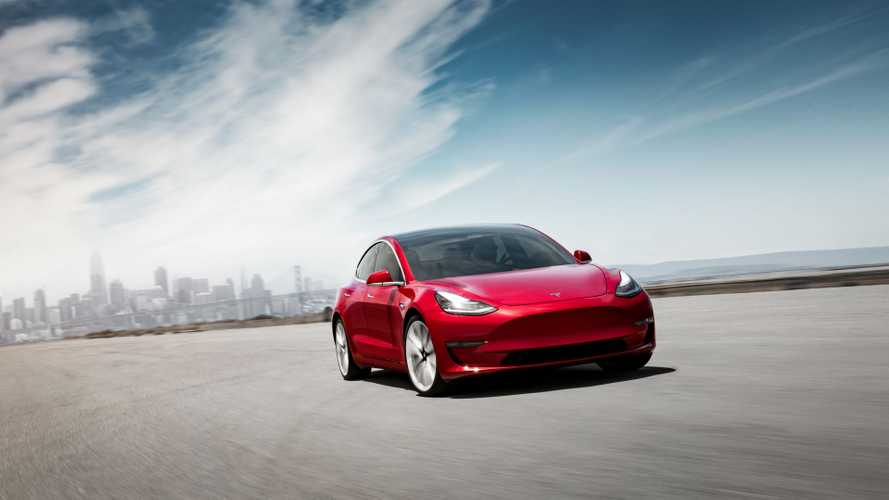 Tesla Model 3 Arrives For Display Purposes In Australia