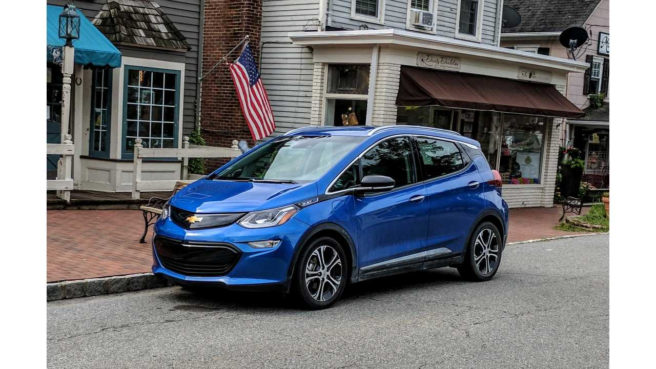 GM Won't Cut Chevy Bolt Price Amid Lower Tax Incentive