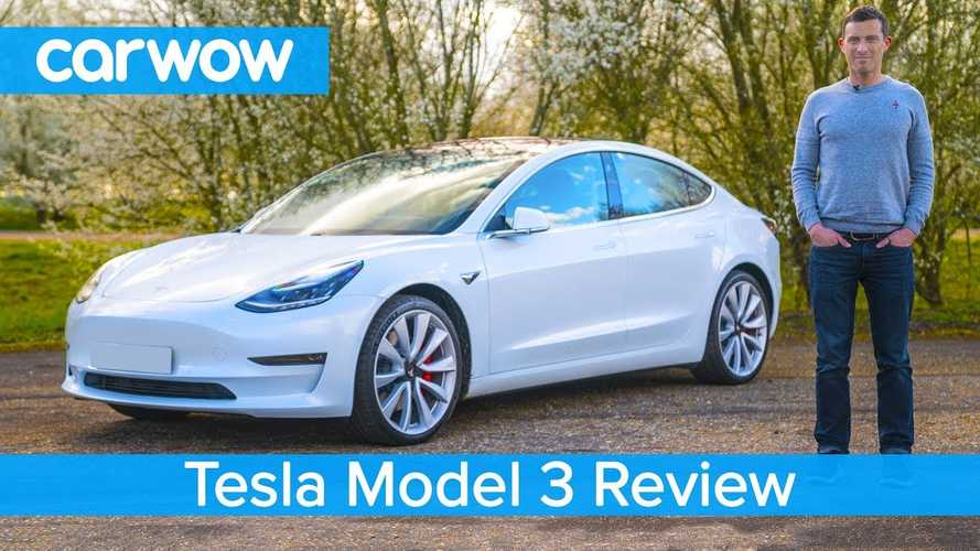 Carwow: Tesla Model 3 Is Best Electric Car In The World: Video