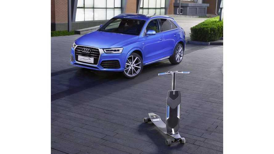 Audi Debuts Electric Longboard