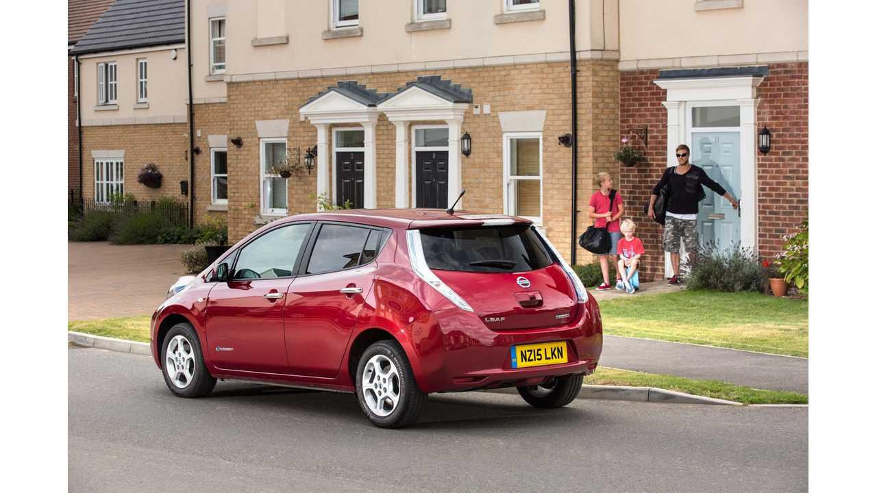 And The Verdict Is? 30 kWh Nissan LEAF Reviewed From UK - Video