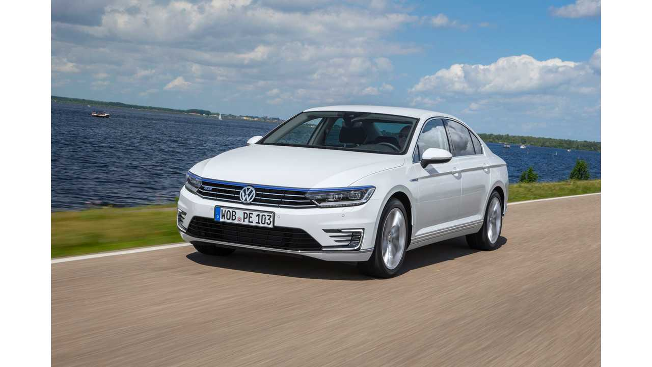 Volkswagen Announces UK Pricing For Passat GTE Plug-In Hybrid