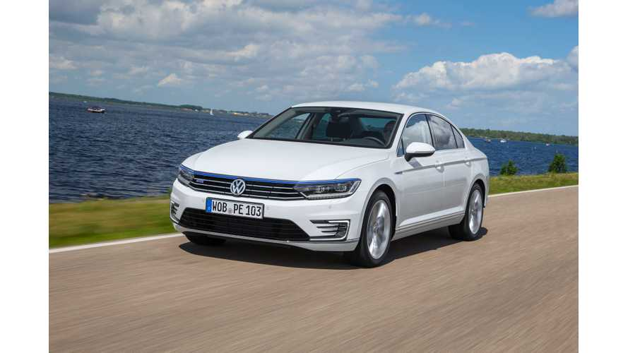 Volkswagen Announces UK Pricing For Passat GTE Plug-In Hybrid