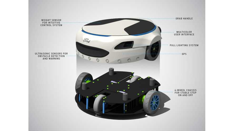 Ford Unveils Carr-E Personal Mobility Concept - videos