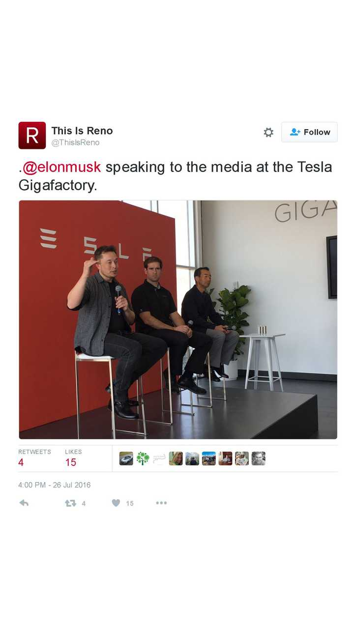 Highlights From Tesla Gigafactory Press Conference Featuring Musk, Straubel, Panasonic VP