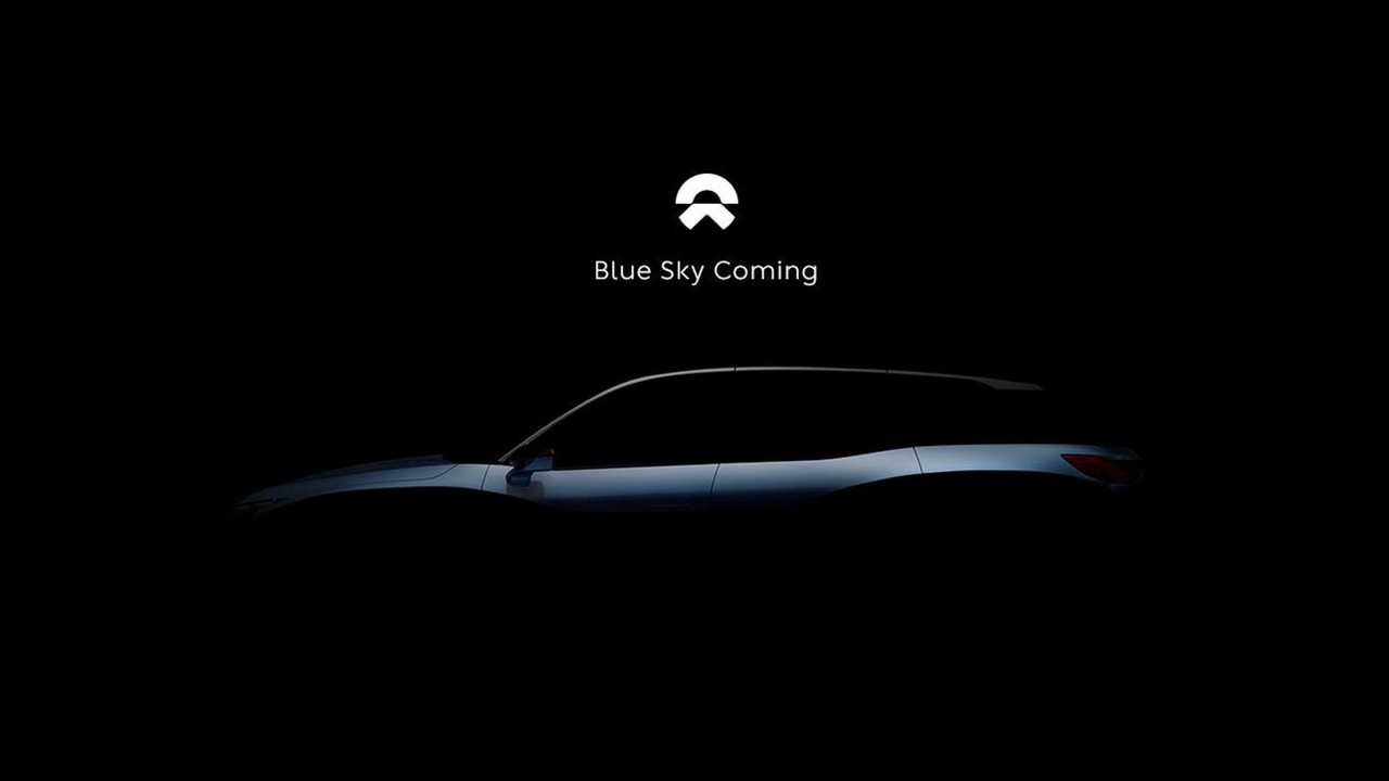 Nio Teases its First Production Electric Car