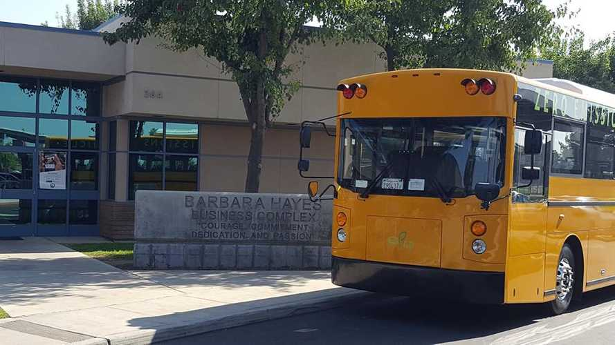 GreenPower Motor Scores Electric School Bus Deal In California - Video