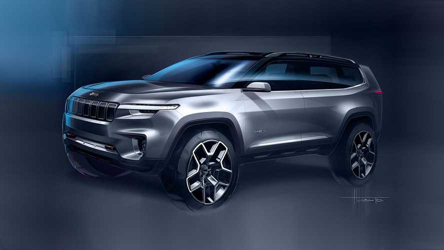 Jeep Yuntu Concept Is A 7-Seat PHEV SUV