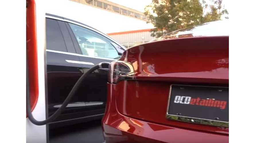 First Tesla Model 3 Test Drive Review Since Unveiling Night - Video