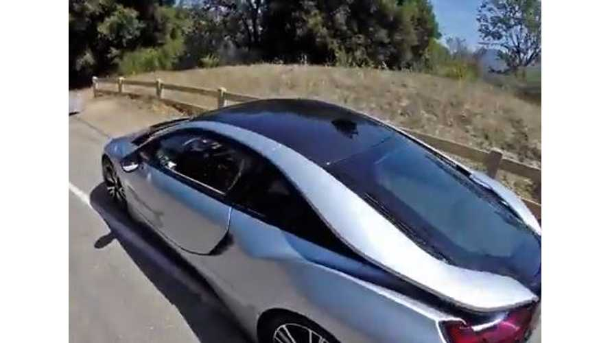 Winding Road BMW i8 Test Drive Review - Video