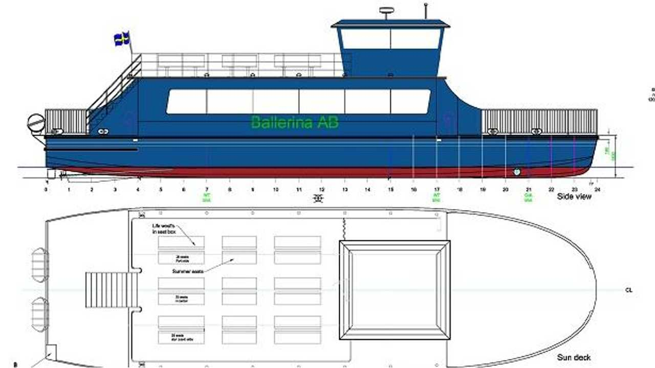 Stockholm To Get Electric Ballerina Ferry