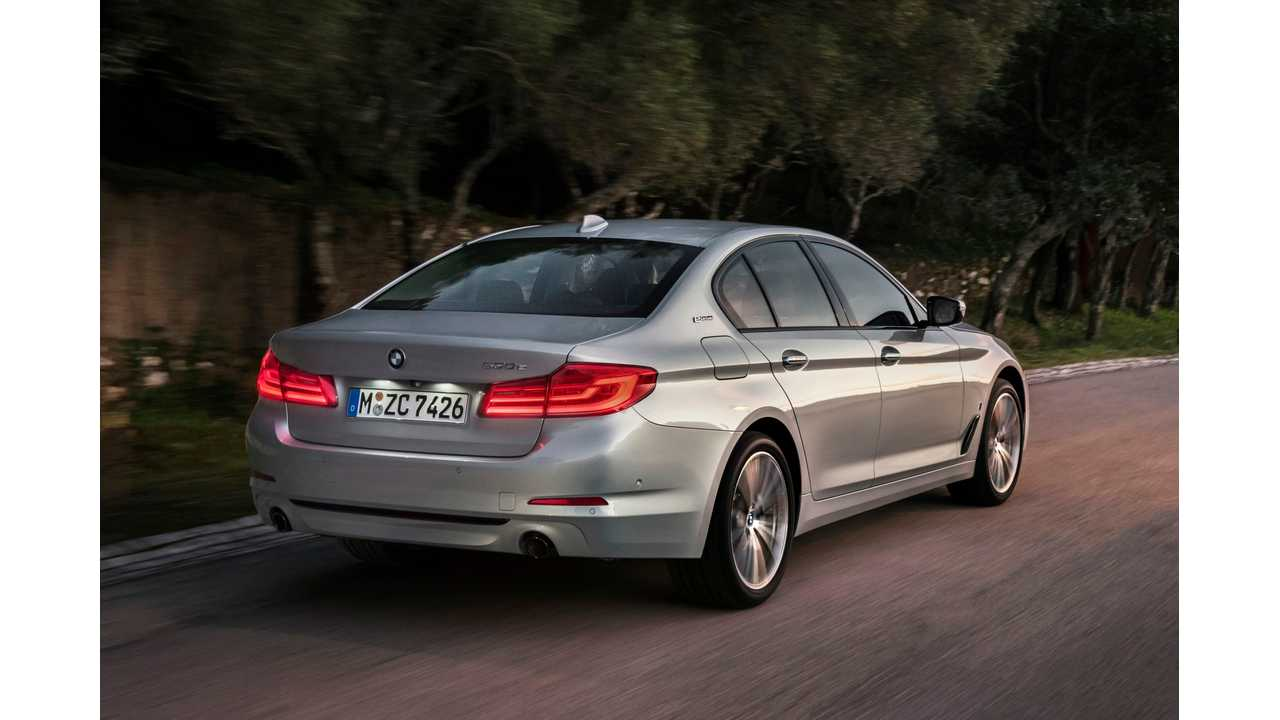 BMW Releases Final Technical Specs on the 530e iPerformance