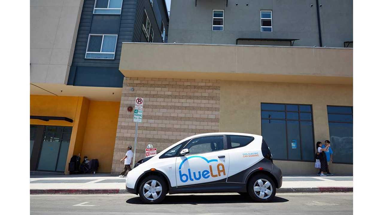 Bolloré BlueLA car sharing