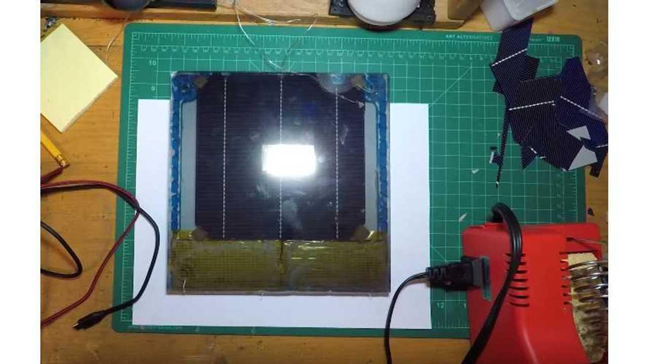 DIY Tesla Solar Roof Panel