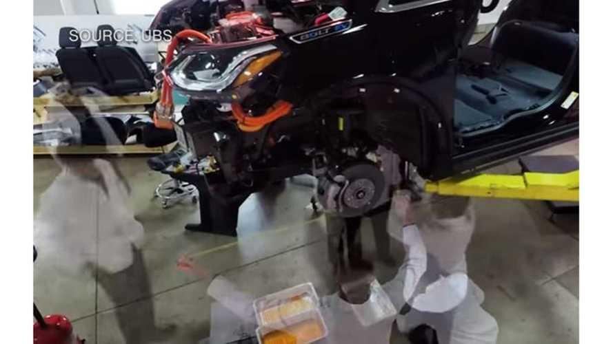 Chevrolet Bolt Teardown Analysis Explained - Video