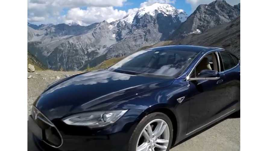 Tesla Model S On Top Gear's