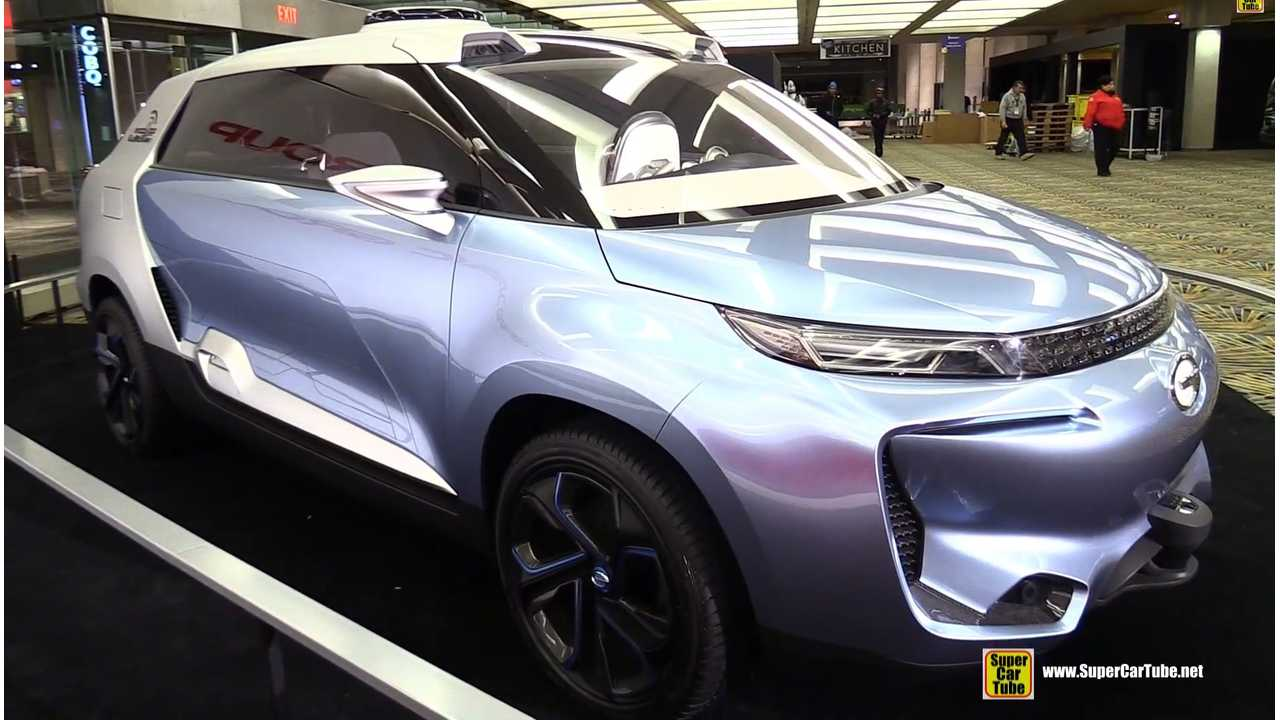 A Look Back At The GAC WITSTAR Concept At The 2015 NAIAS (w/videos)
