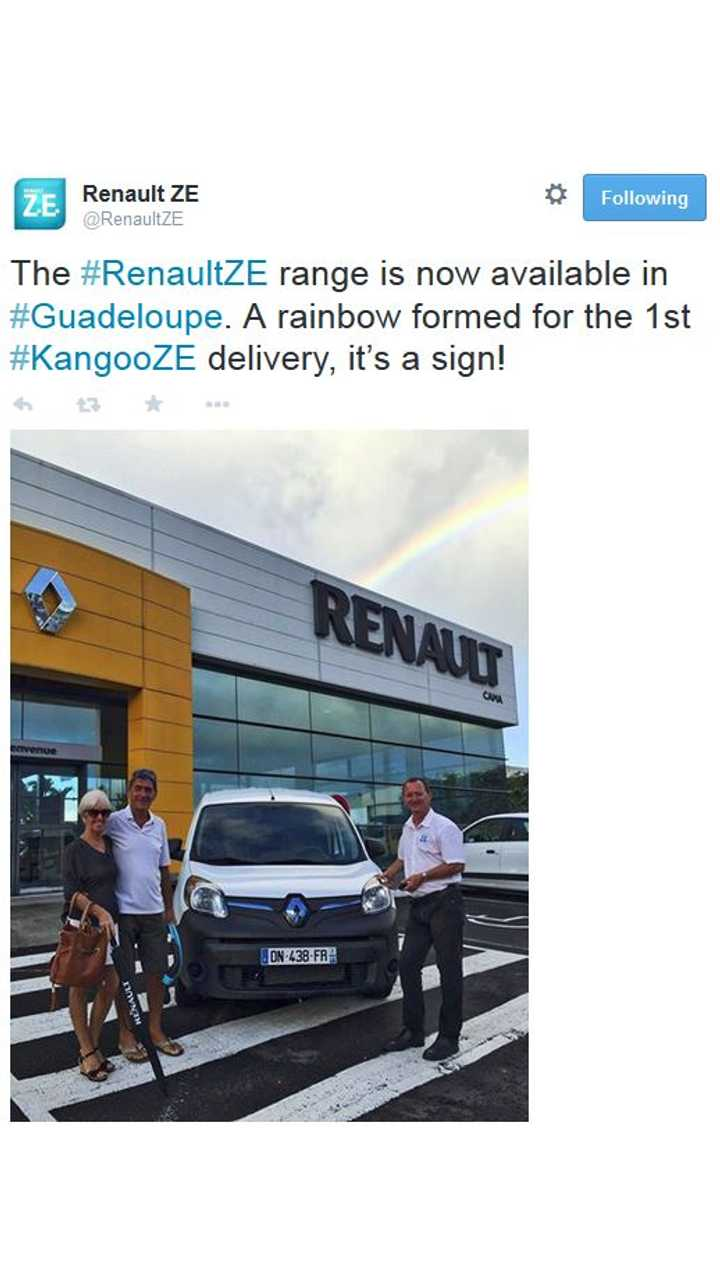 Renault ZE Electric Lineup Now Available In Guadeloupe