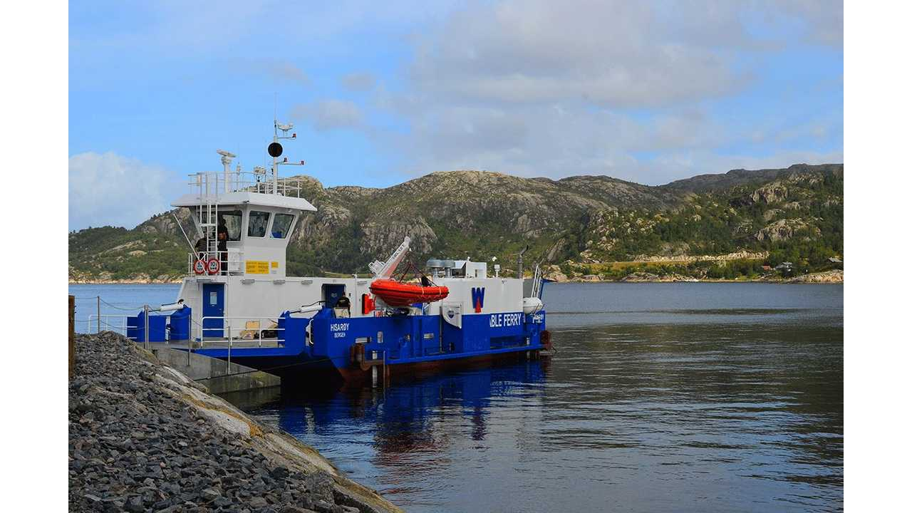 Scandinavia's First Lithium Battery Electric Car Ferry Completes Over 4,000 Trips