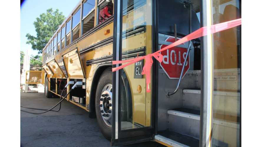 Gilroy School District's All Electric Bus Conversion - Video