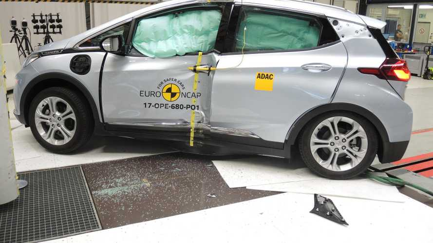 Opel Ampera-E Nets Disappointing 4 -Star Score In Euro NCAP Safety Tests (w/video)