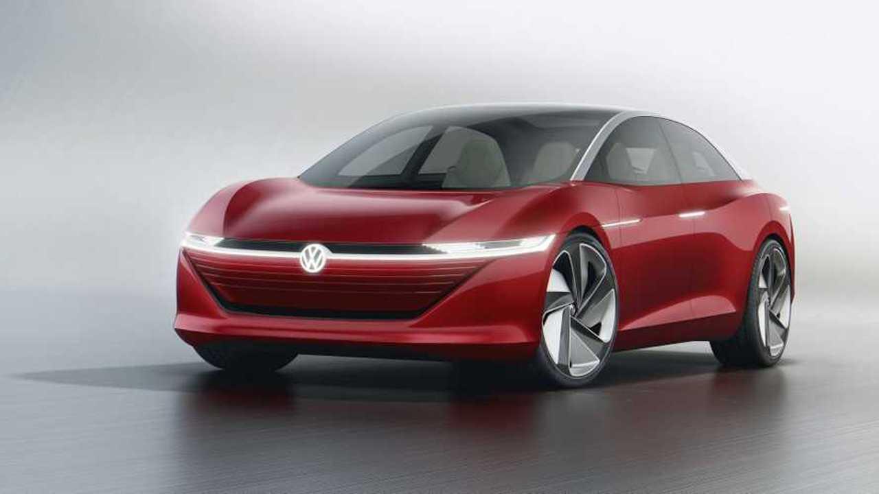 UPDATE: 413-Mile Volkswagen I.D. Vizzion Electric Car Debuts In Geneva