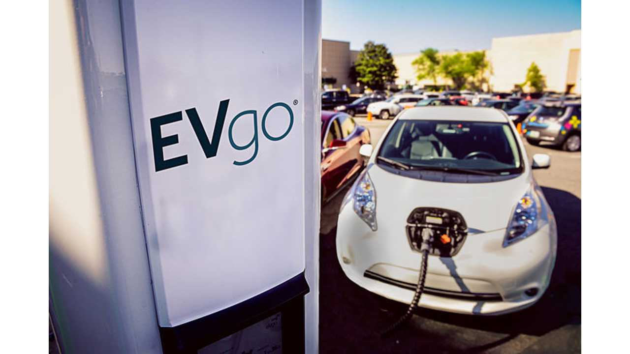 EVgo Partners With Nissan To Install Its 1,000th U.S. DC Fast Charger
