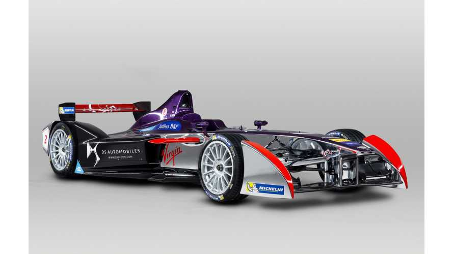 DS Performance To Support Virgin Racing In Formula E