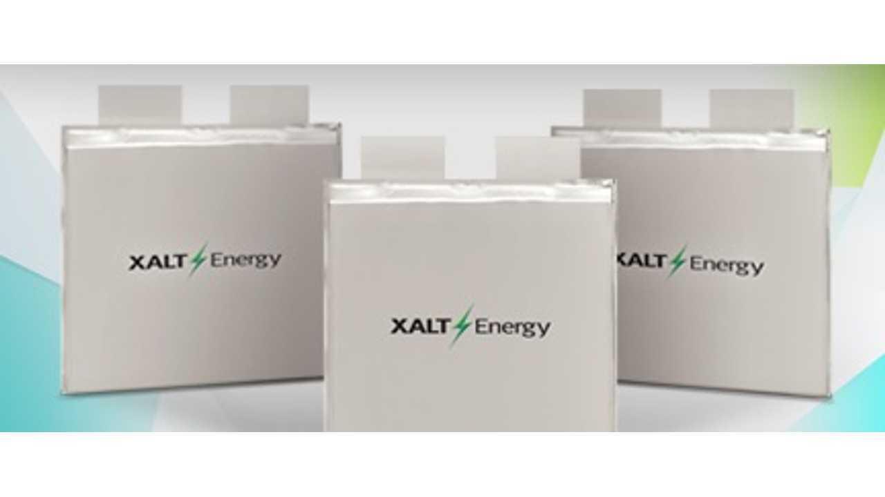 XALT Energy battery cells