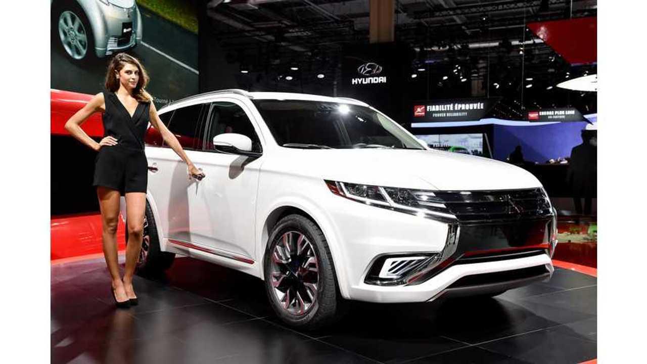 Almost 20% Of Mitsubishi Sales In Europe Are Plug-Ins; Outlander PHEV Sales Exceed Regular Outlander