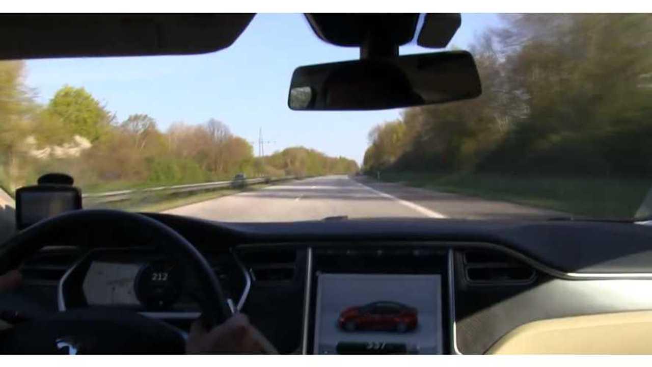 Tesla Model S - Bjorn Nyland - Autobahn
