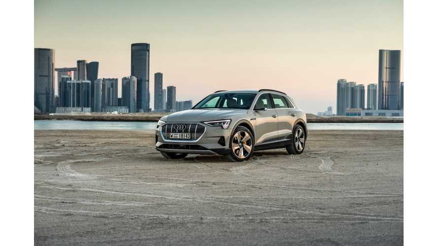 Audi Confirms E-Tron Electric SUV Will Be Sold In China In 2019