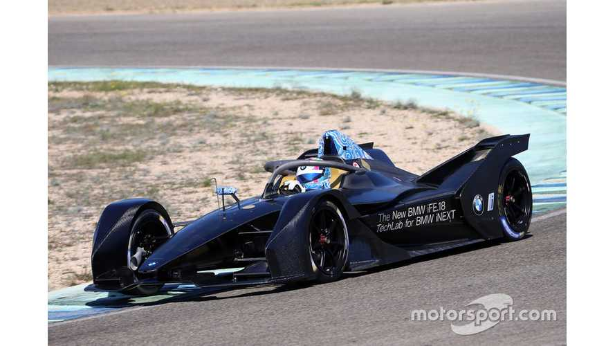 BMW Calls Up New Driver For Formula E Run