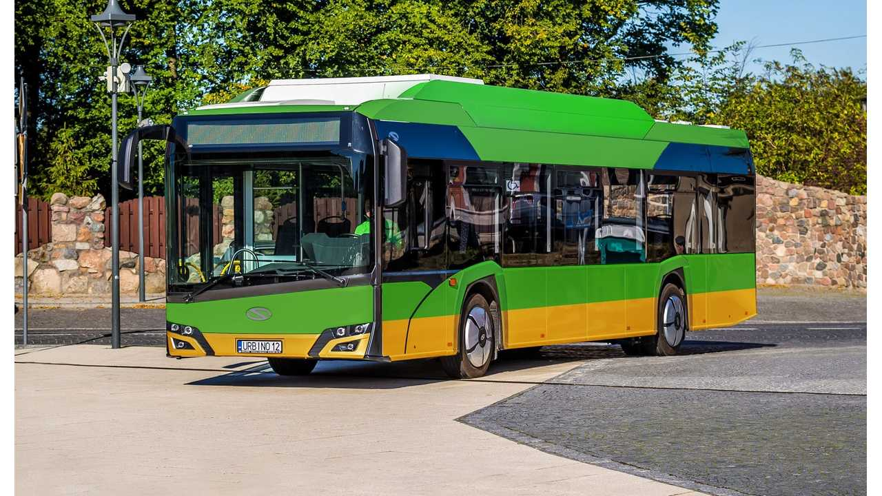 Solaris Receives Order For 21 Electric Buses In Poland