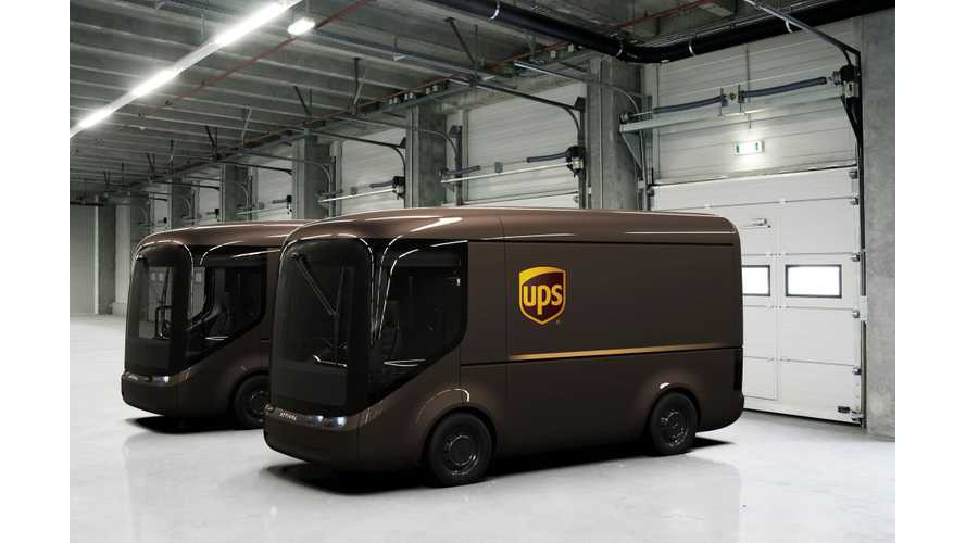 UPS To Deploy 35 Arrival Electric Delivery Vans In London And Paris