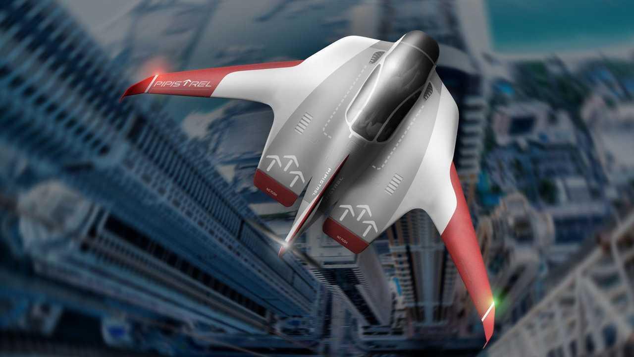 Pipistrel Reveals Electric eVTOL Concept