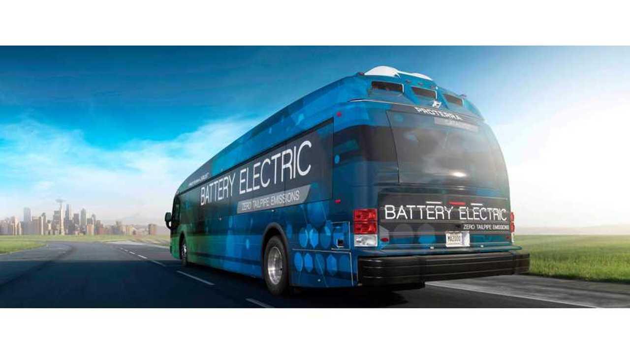 Proterra Starts Autonomous Electric Bus Trials In US