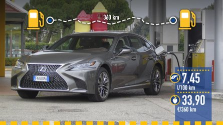 Lexus LS 500h 2019: prueba de consumo real